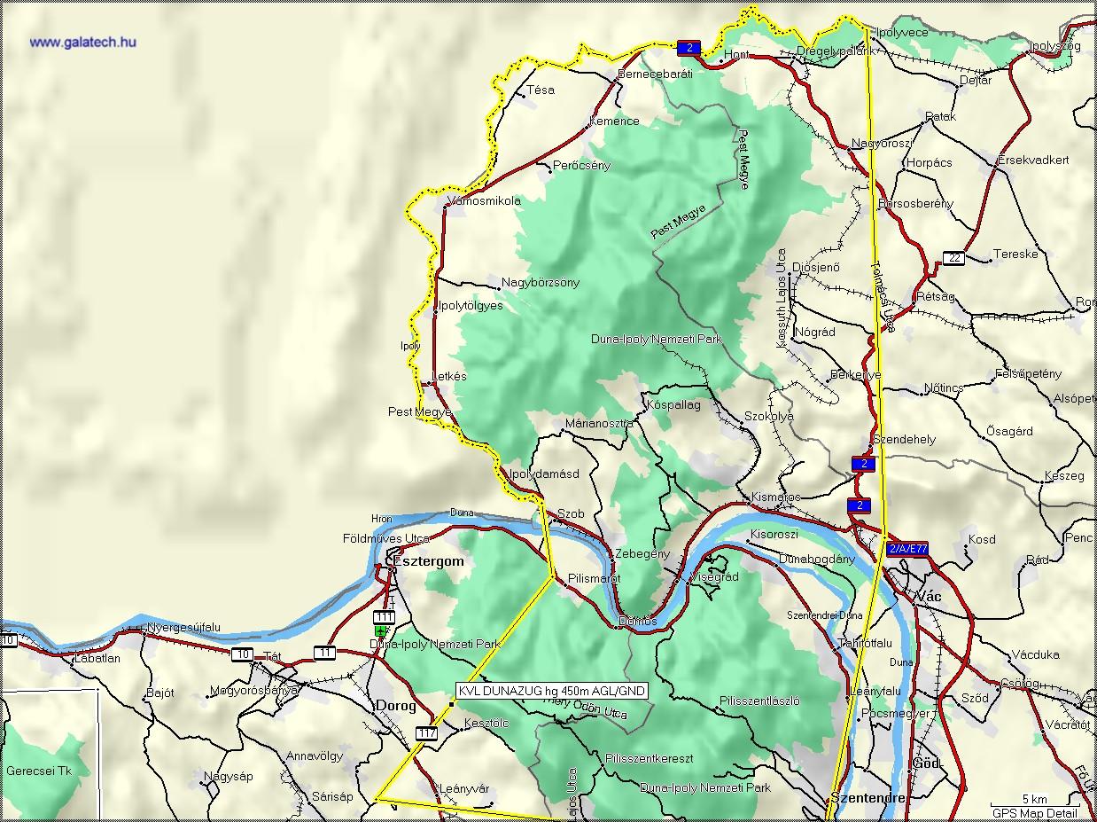 börzsöny domborzati térkép Bp TMA 2007.05.10 től börzsöny domborzati térkép